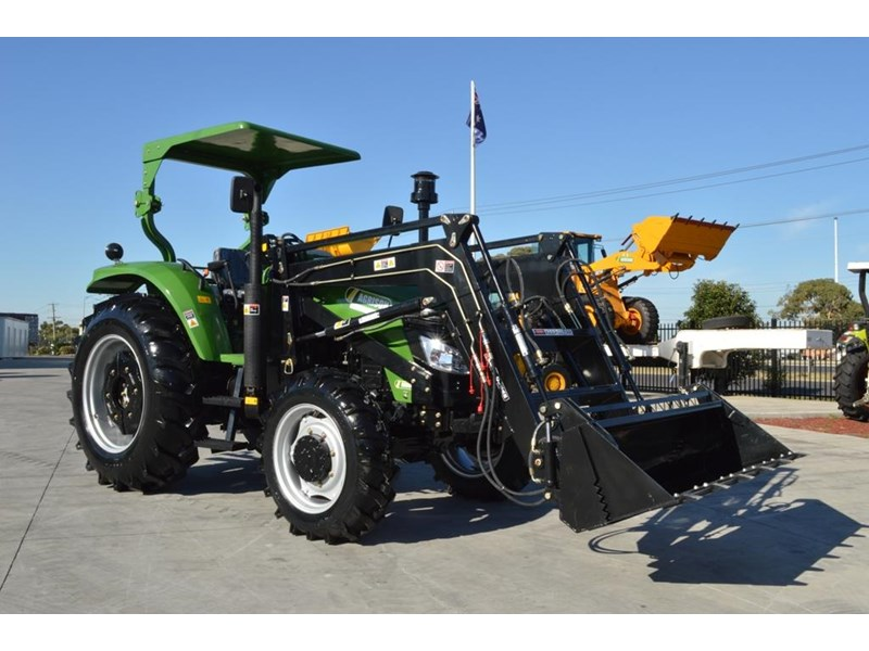 agrison 80hp cdf 4x4 4in1 bucket - 5 year warranty, free 6 ft slasher 455374 004