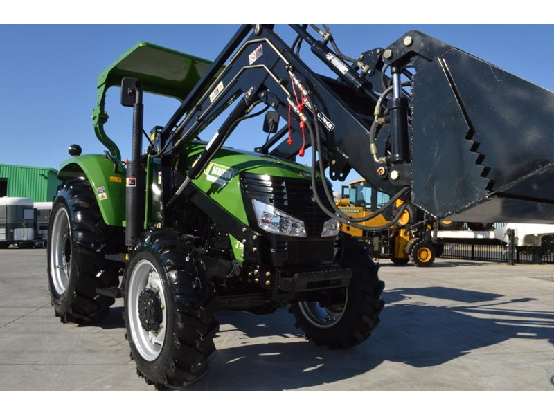 agrison 80hp cdf 4x4 4in1 bucket - 5 year warranty, free 6 ft slasher 455374 009