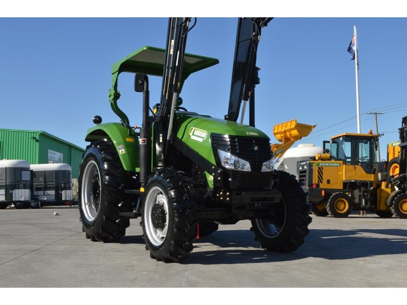 agrison 80hp cdf 4x4 4in1 bucket - 5 year warranty, free 6 ft slasher 455374 013