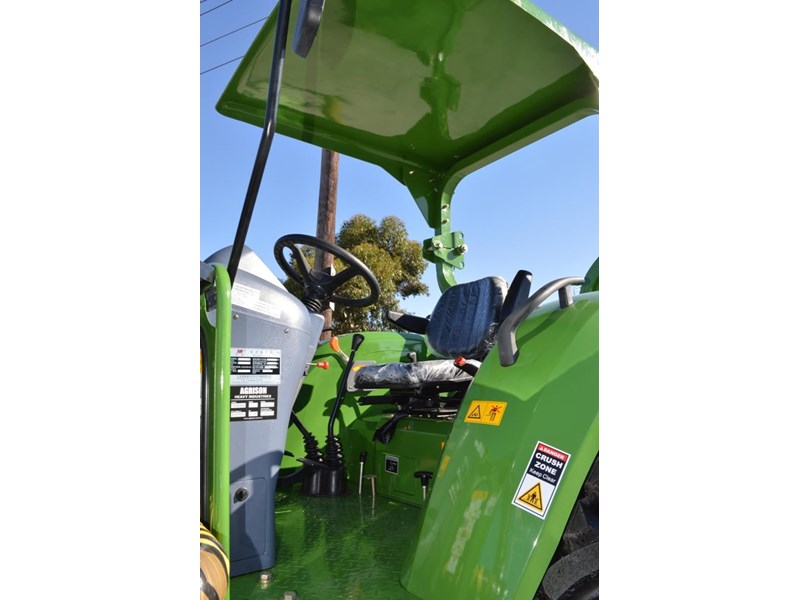 agrison 80hp cdf 4x4 4in1 bucket - 5 year warranty, free 6 ft slasher 455374 026