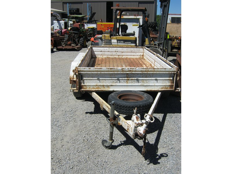 custom tandem box trailer 461394 004
