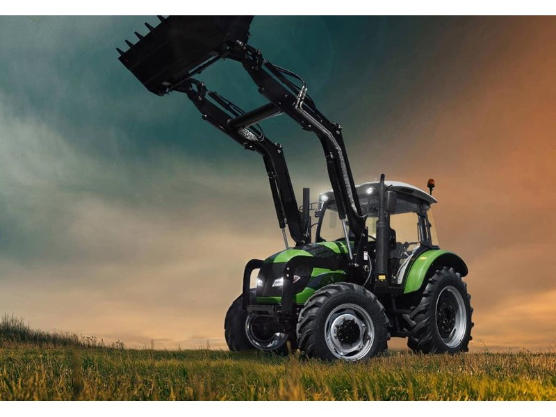agrison 100hp cdf + 4 in 1 bucket + fel + tinted windows 455237 001