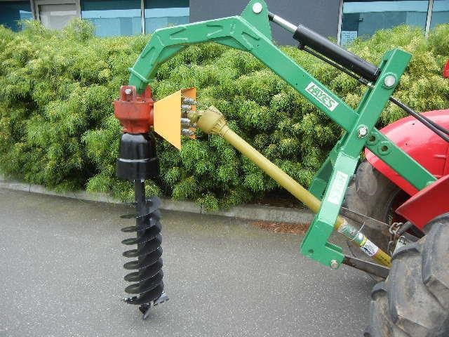 "hayes hydraulic post hole digger tractor 3 point linkage with 12"" auger 467681 001"