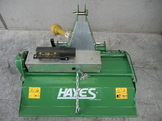 hayes pto tractor rotary hoe/tiller 4ft standard duty - 3 point linkage 467833 012
