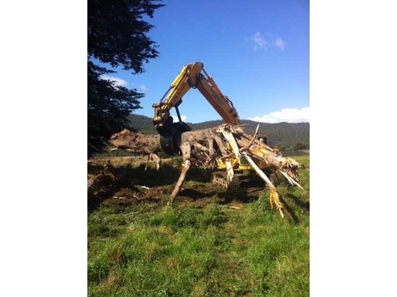 ar equipment are 20-24 ton log demo mechanical grab 444370 006