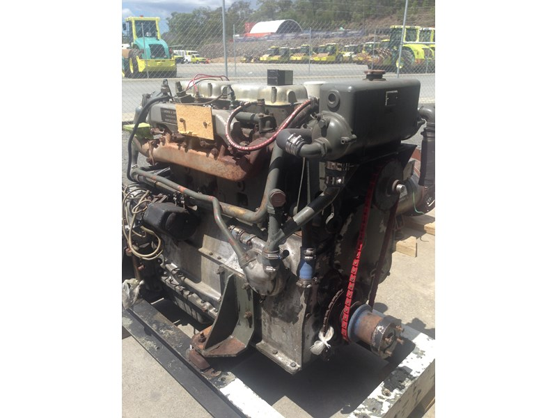 **new listing** gardner 4lw genset with auxiliary drive 470892 002