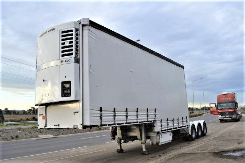 vawdrey st3 lead a 12pallet dd refrigerated curtain sider mezz 344229 002