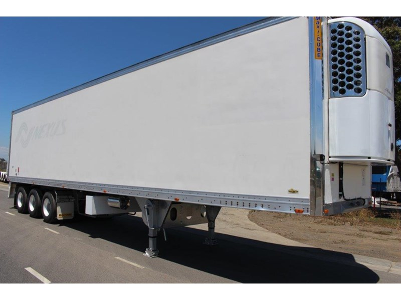 maxi-cube st3 tri axle -30 reefer double stacker r/t rated 449187 002