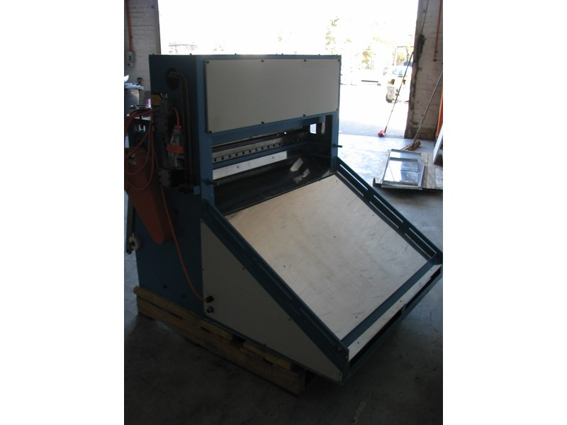 other industrial sheet roll sheeter guillotine - 1m long blade 474808 005