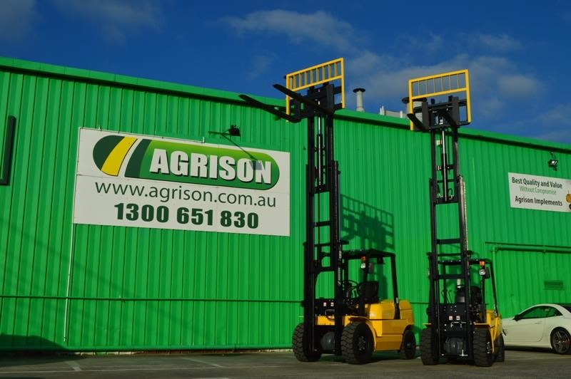 agrison 3 tonne forklift - 3 stage cont. mast - nationwide delivery 505628 003