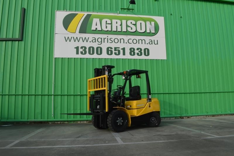 agrison 3 tonne forklift - 3 stage cont. mast - nationwide delivery 505628 001