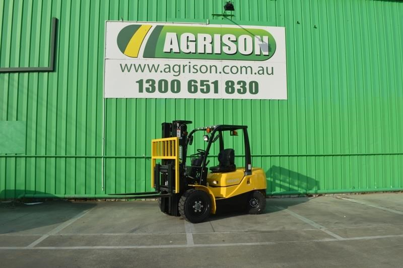 agrison 3 tonne forklift - 3 stage cont. mast - nationwide delivery 505628 004
