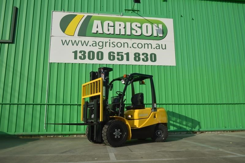 agrison 3 tonne forklift - 3 stage cont. mast - nationwide delivery 505628 005