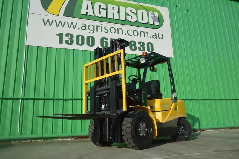 agrison 3 tonne forklift - 3 stage cont. mast - nationwide delivery 505628 002