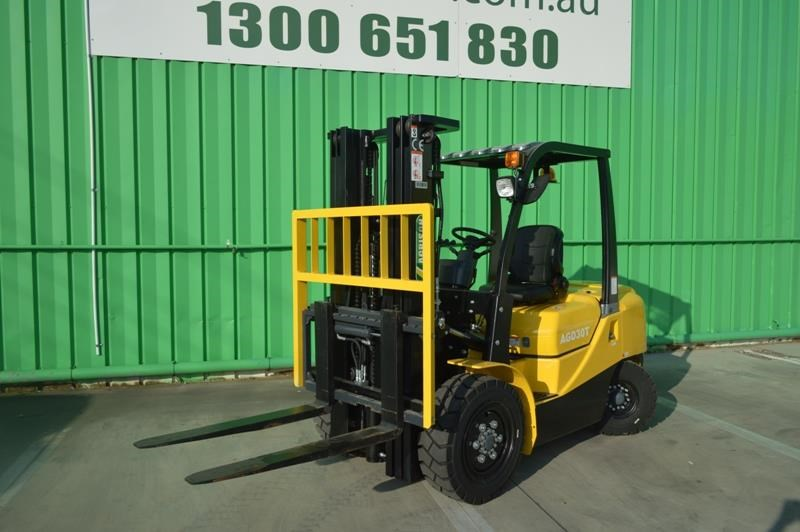 agrison 3 tonne forklift - 3 stage cont. mast - nationwide delivery 505628 008