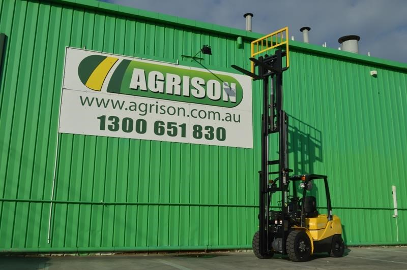 agrison 3 tonne forklift - 3 stage cont. mast - nationwide delivery 505628 009