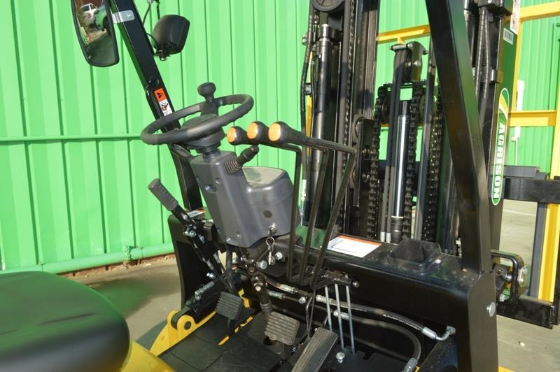 agrison 3 tonne forklift - 3 stage cont. mast - nationwide delivery 505628 011