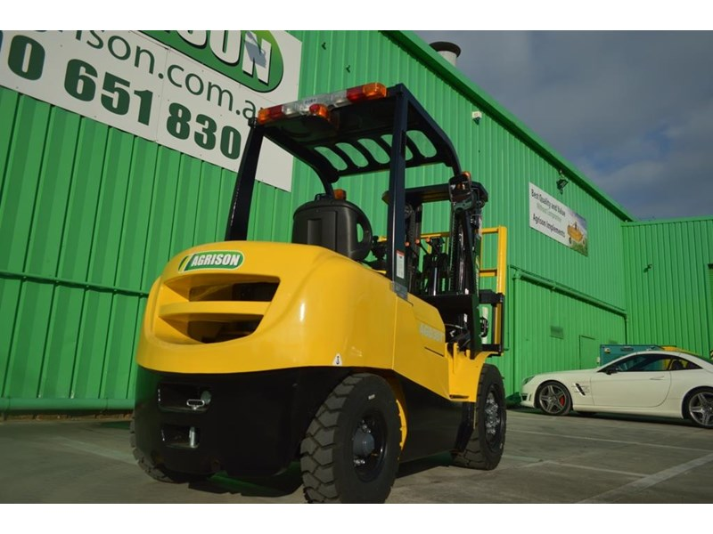 agrison 3 tonne forklift - 3 stage cont. mast - nationwide delivery 505629 016