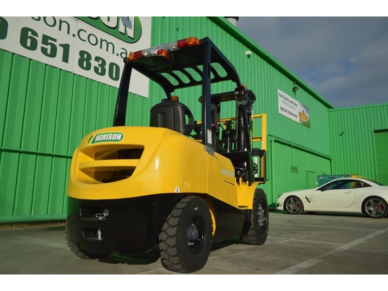 agrison 3 tonne forklift - 3 stage cont. mast - nationwide delivery 505629 017