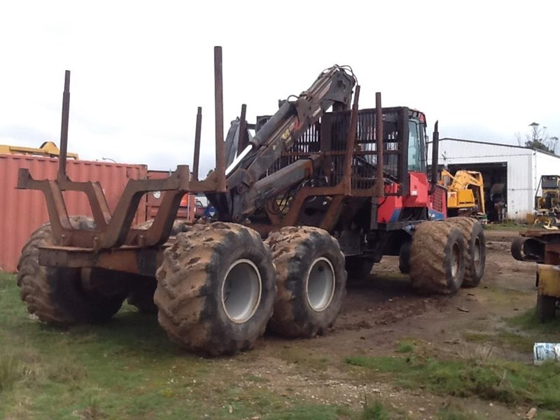 valmet 890-1 log forwarder 185302 001
