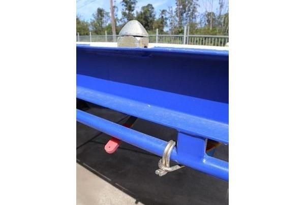 aaa 45' flat deck semi with pins 505232 006