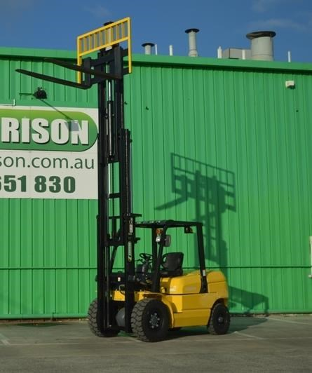 agrison 5 tonne forklift - 3 stage cont. mast - nationwide delivery 505661 005