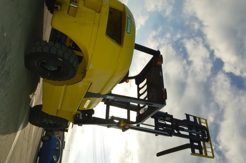 agrison 5 tonne forklift - 3 stage cont. mast - nationwide delivery 505661 008