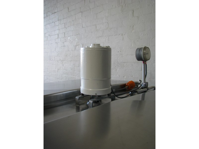 stainless steel jacketed tank vat food grade - 1500l 506060 002