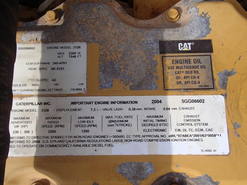 caterpillar 322c long stick 509519 013