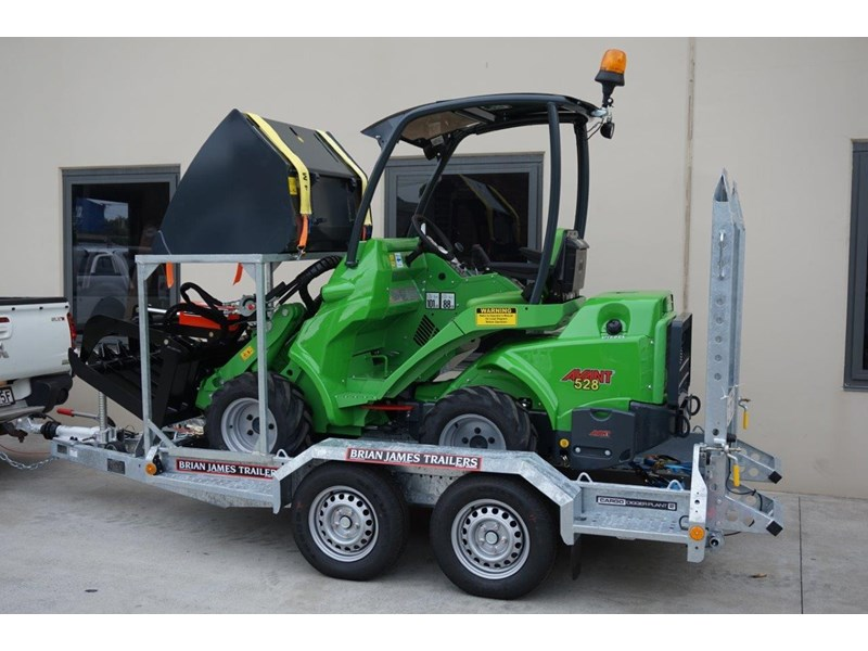 avant articulated mini loader trailer package 520176 003