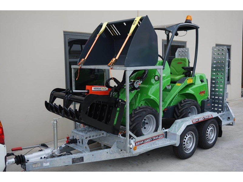 avant articulated mini loader trailer package 520176 004