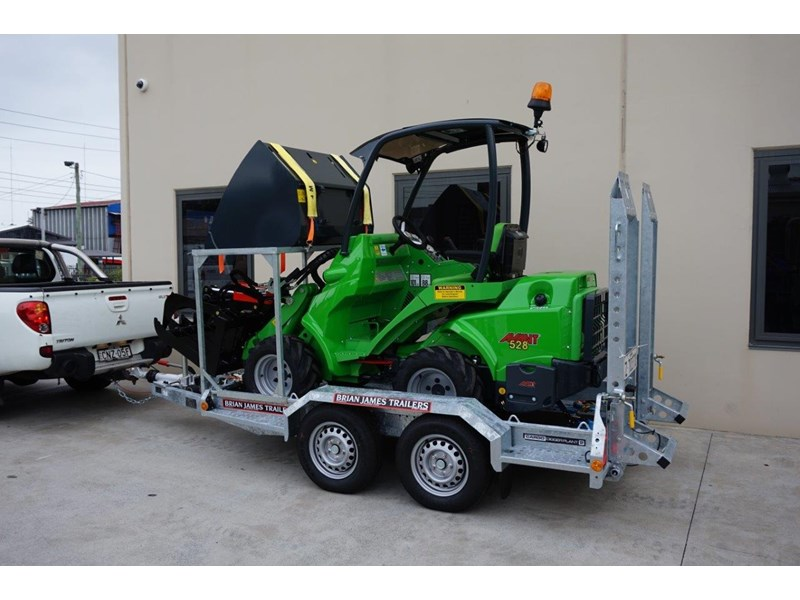 avant articulated mini loader trailer package 520176 007