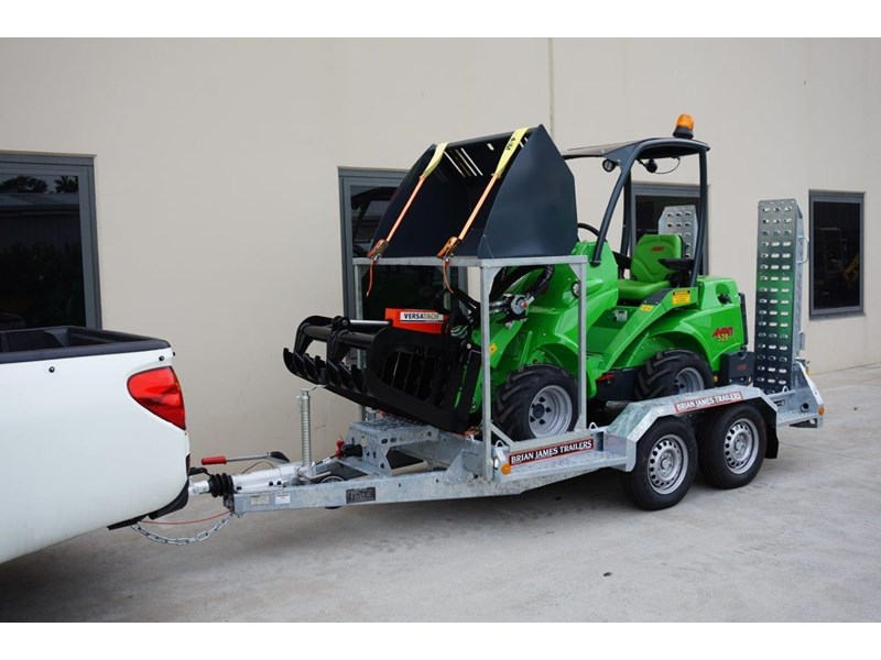 avant articulated mini loader trailer package 520176 008