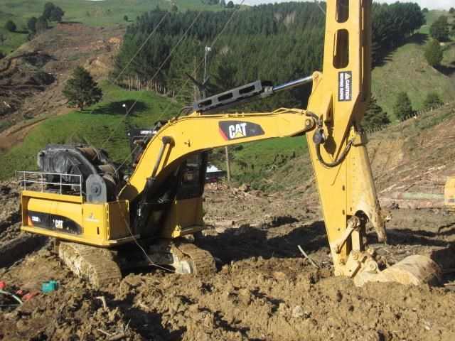 caterpillar 330dl harvestline 523657 004