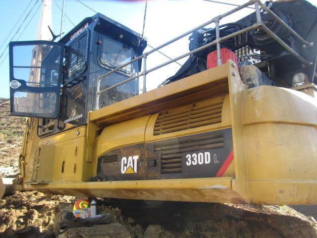 caterpillar 330dl harvestline 523657 007