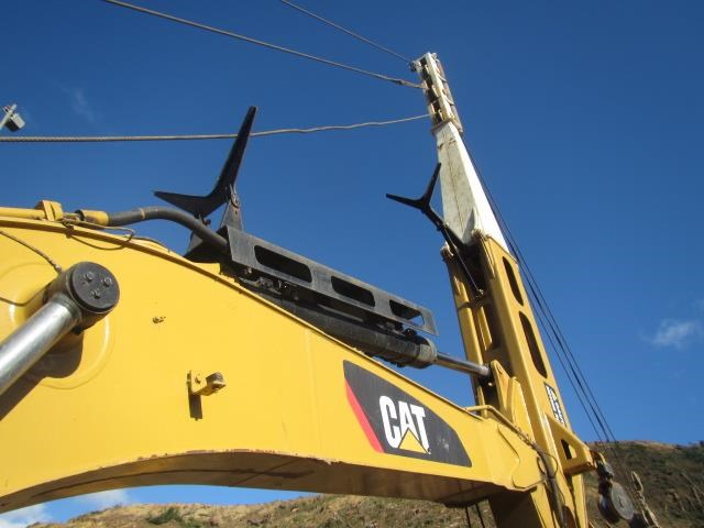 caterpillar 330dl harvestline 523657 008