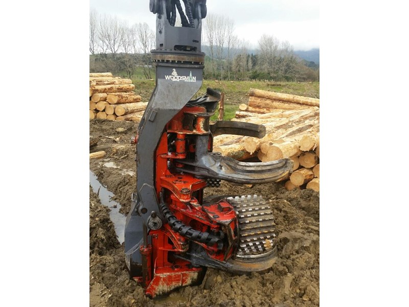 hyundai 320lc-9 logger with woodsman pro800 processor 525741 003