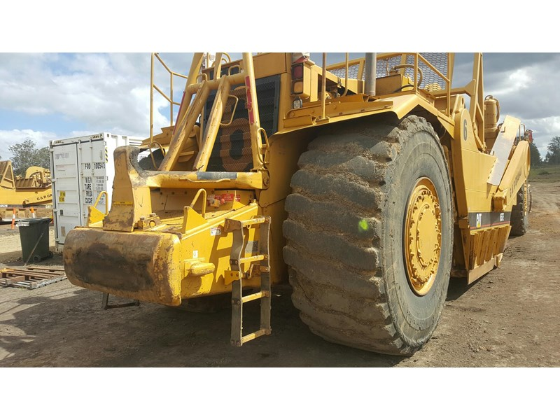 caterpillar 657e scraper 530908 003