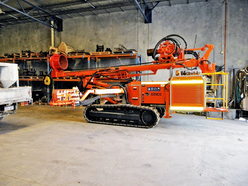 hd engineering crawler drill rig hd110 532132 001