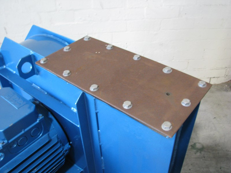 abb centrifugal blower fan - 17kw 532843 003
