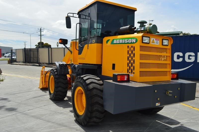 agrison tx926l wheel loader 5.5tonne 2000kg capacity 5year warranty 100378 024