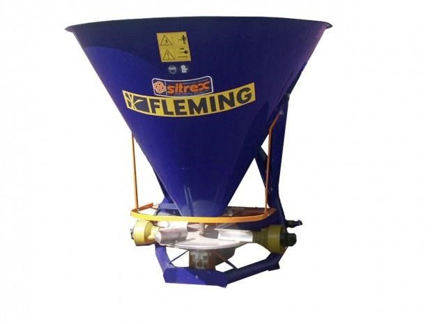fleming fs500 - fertiliser spreader 549466 002