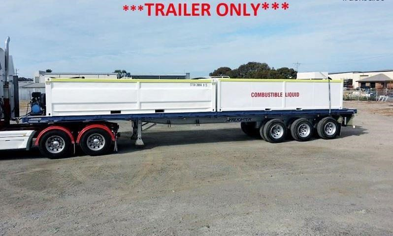maxitrans 45ft flat top trailer 536835 001