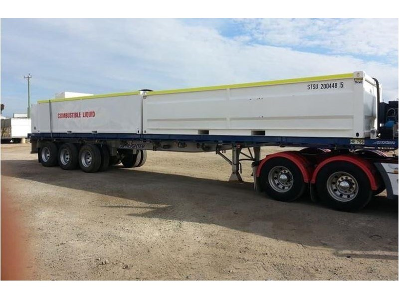 maxitrans 45ft flat top trailer 536835 002