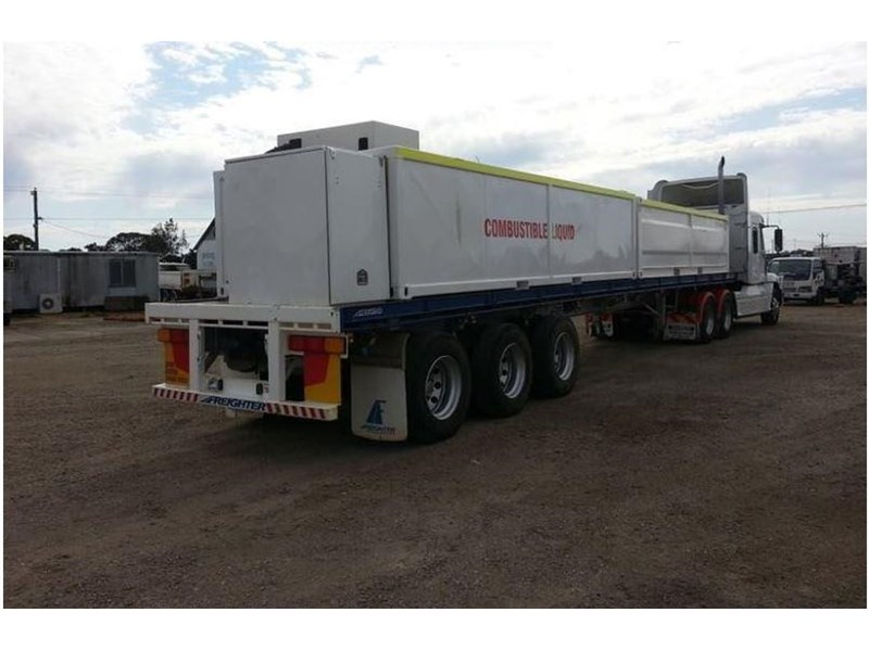 maxitrans 45ft flat top trailer 536835 004