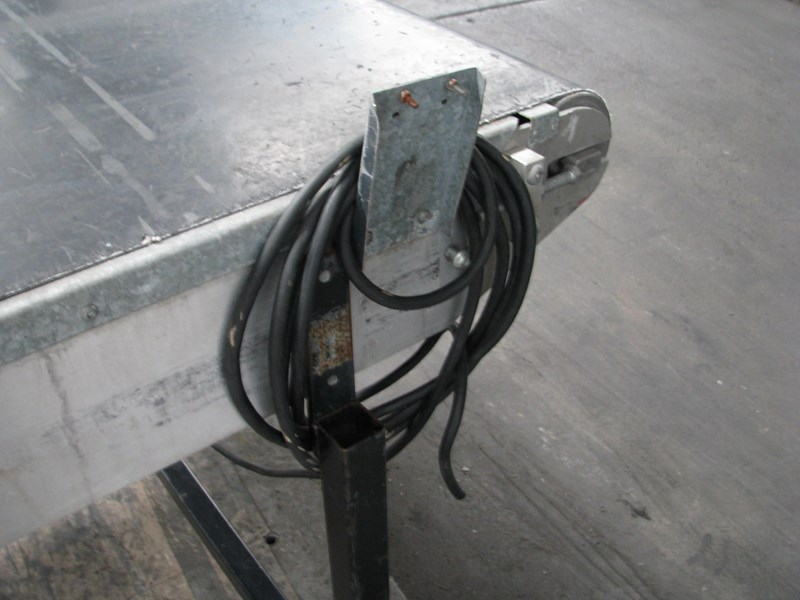 melbourne conveyor company motorised belt conveyor - 4m long 555250 005