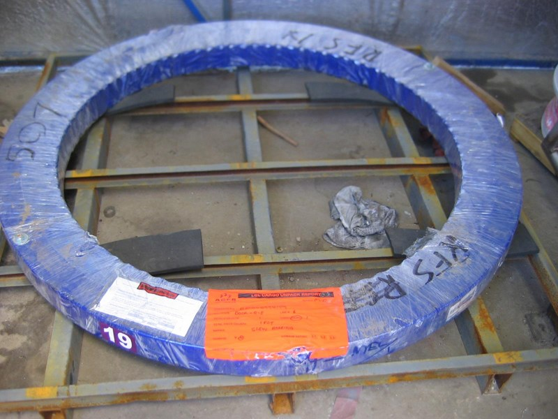 caterpillar 325/329/500 series/timberking slew ring 558257 001