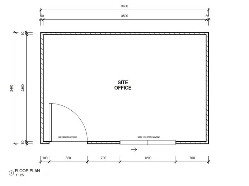 mcgregor 3.6m x 2.4m site office 496323 004