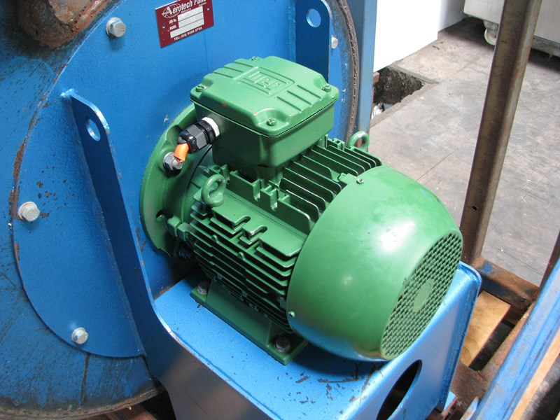 aerotech industrial factory extraction centrifugal blower fan - 5.5kw 567868 002