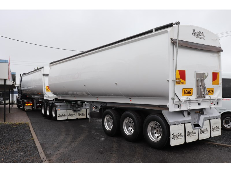 bruce rock engineering b-double slider bulk tippers 555491 013